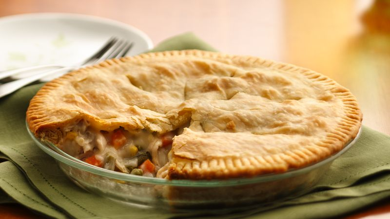 Homemade Chicken Pot Pie Recipe Bettycrocker Com
