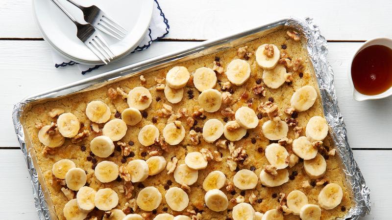 Sheet pan cake recipe