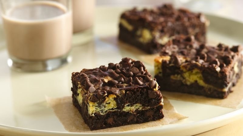 Gluten-Free Cream Cheese Swirl Brownies