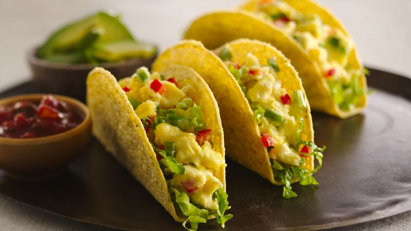 Breakfast Tacos Recipe Bettycrocker Com