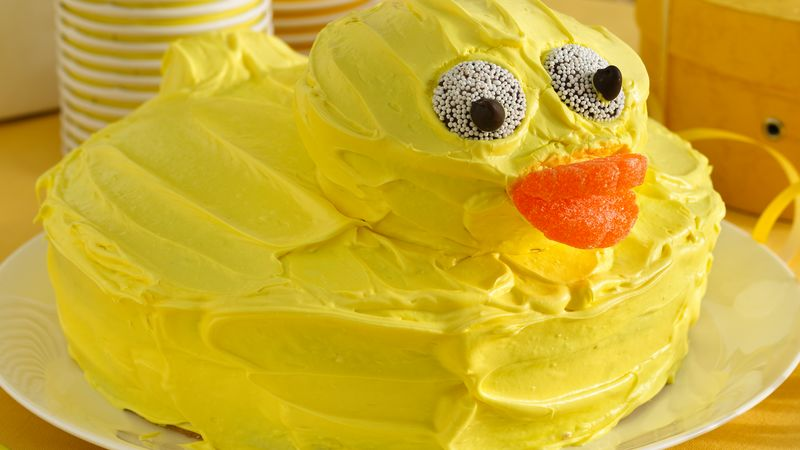 Amazing Rubber Ducky Cake Recipe Bettycrocker Com Funny Birthday Cards Online Alyptdamsfinfo