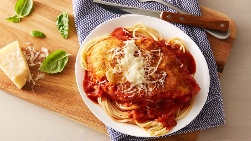 Skillet chicken parmesan recipe bettycrocker skillet chicken parmesan forumfinder Choice Image