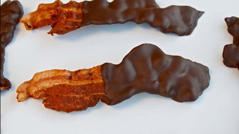 Tocineta Cubierta en Chocolate