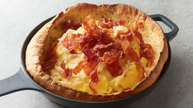 Crispy Prosciutto, Fontina and Rosemary Dutch Baby