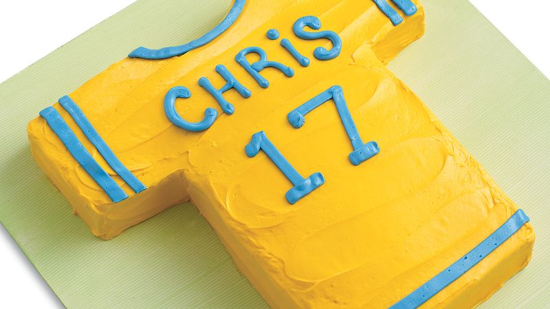 Sports Party Cake