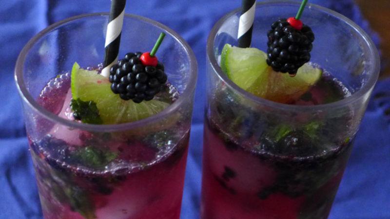 Blackberry Witch Mojito