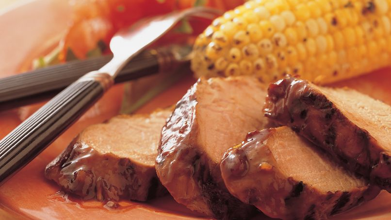 Barbecued Pork Tenderloin