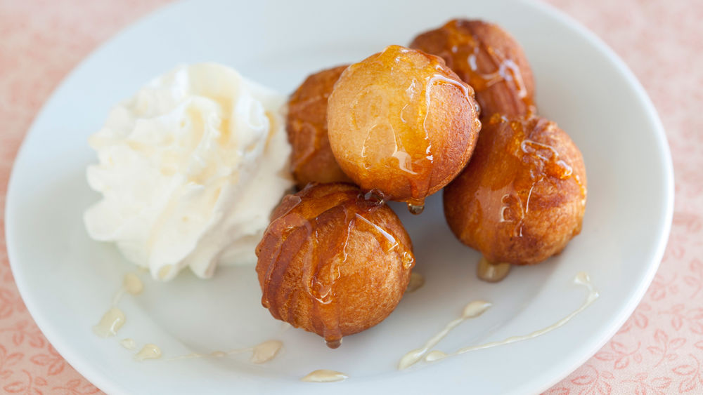 Honey Doughnut Holes