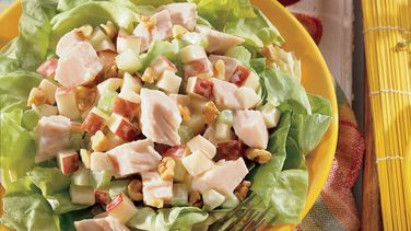 Smoked Turkey Waldorf Salad