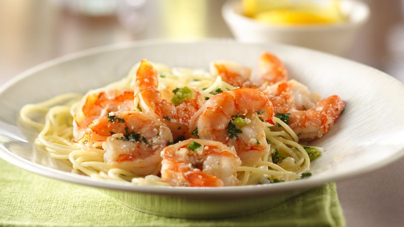 Shrimp Scampi Recipe Bettycrocker Com