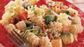 California Club Turkey and Pasta Salad