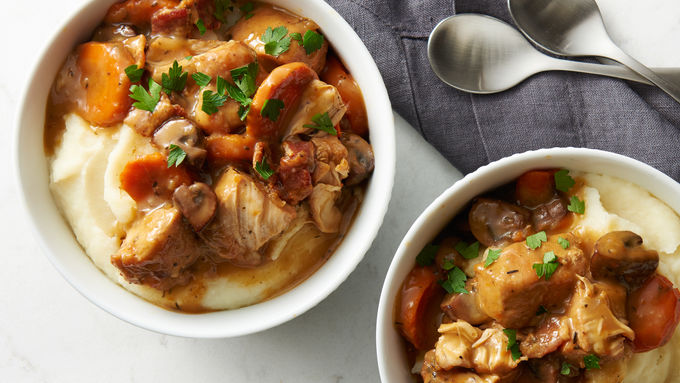 Slow-Cooker Chicken Burgundy Stew