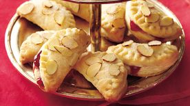 Raspberry-Almond Foldovers
