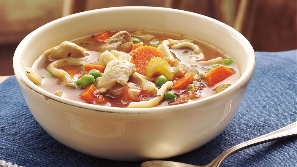 Grandma's Slow-Cooker Chicken Noodle Soup