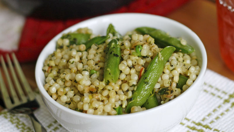 Mint Pea Couscous
