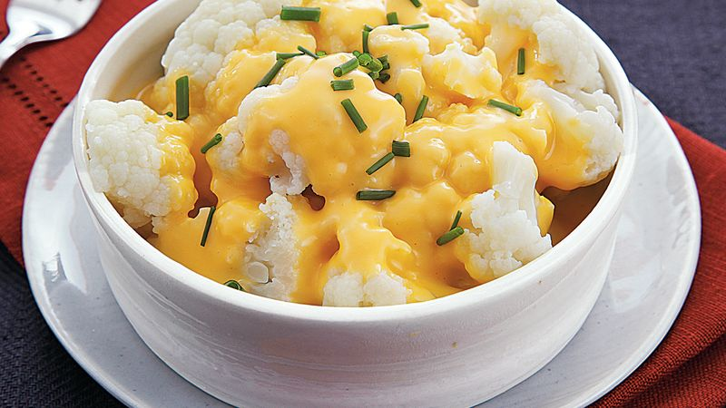 Slow-Cooker Cheesy Cauliflower