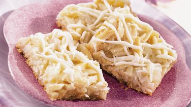 Double White Chocolate Layered Bars