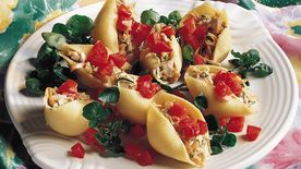 Tuna-Stuffed Shells