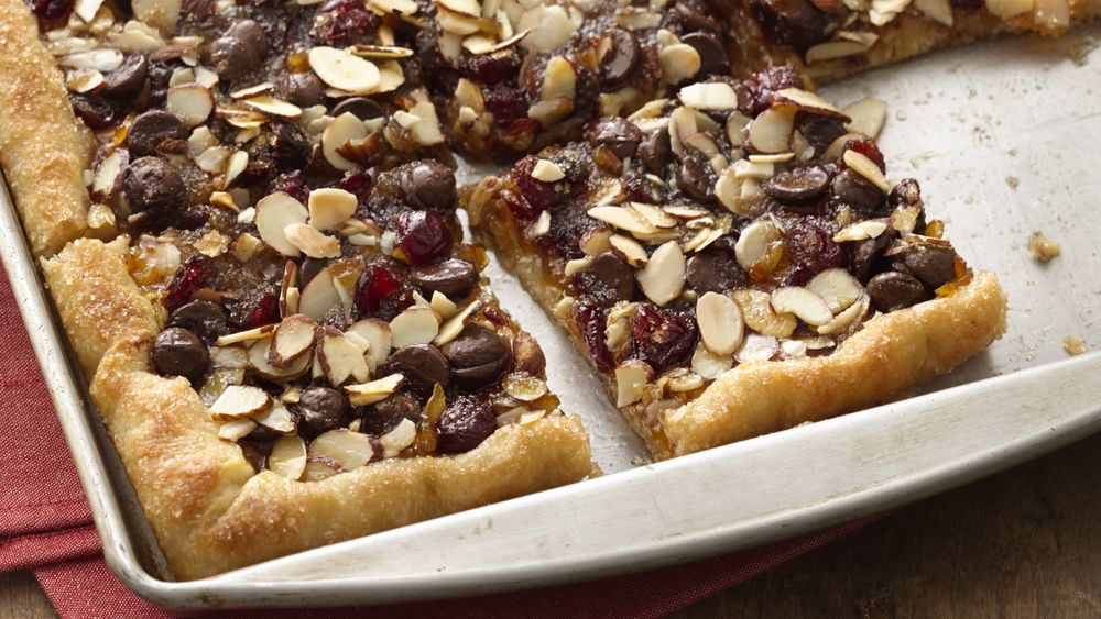 Cranberry Orange Dark Chocolate Flatbread