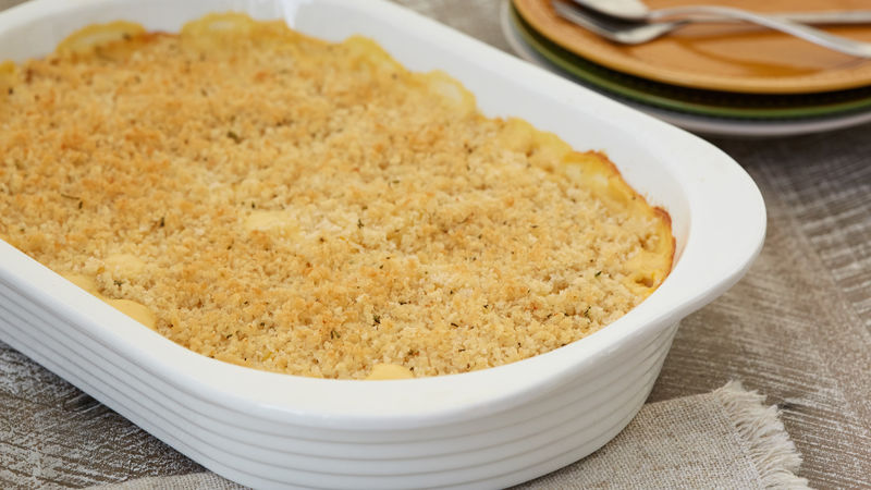 Scalloped Potatoes with Corn