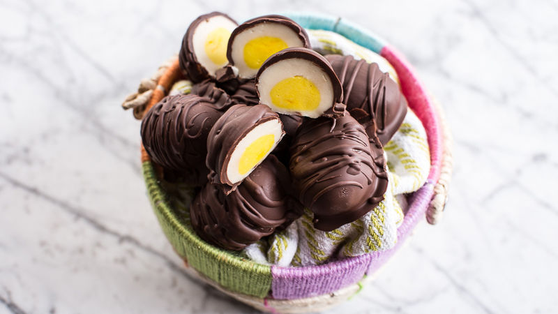 Copycat Chocolate Cream Eggs