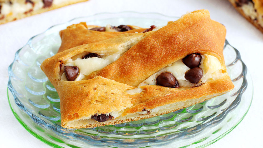 Chocolate Chip Danish