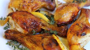 Receta de pollo frito al horno - Salsa de pollo al limon ...