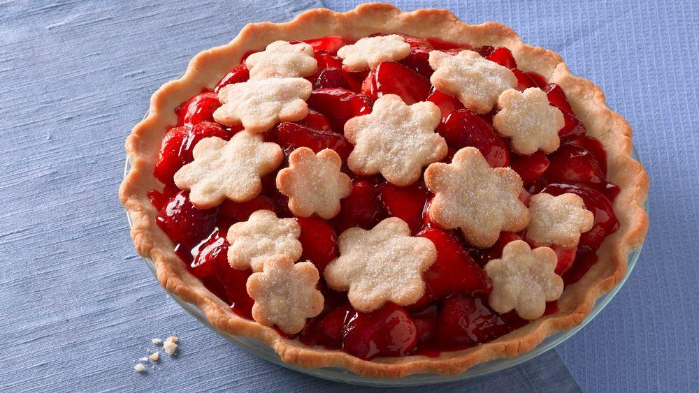 Gluten-Free Strawberry Glacé Pie