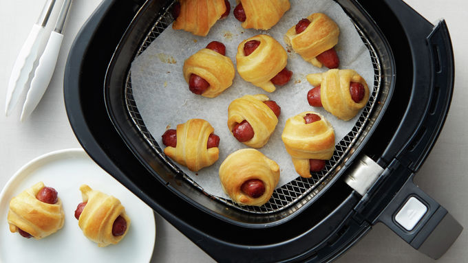 Air Fryer Mini Crescent Dogs
