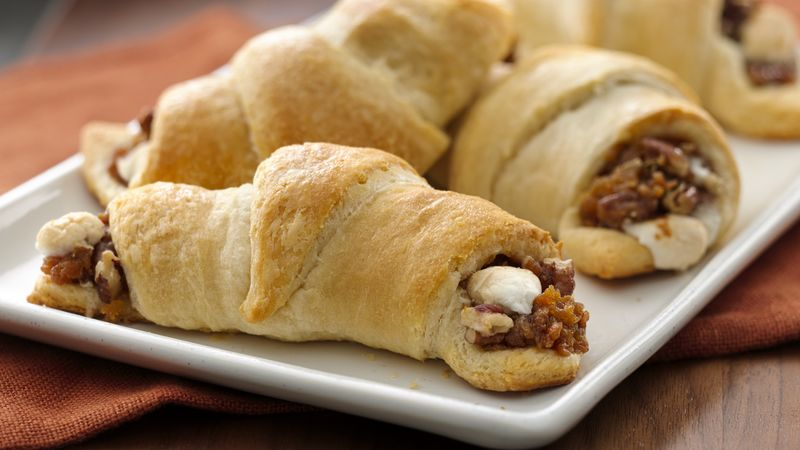 Sweet Potato Casserole Crescents