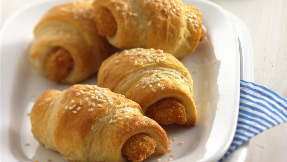 Fish and Crescent Roll-Ups