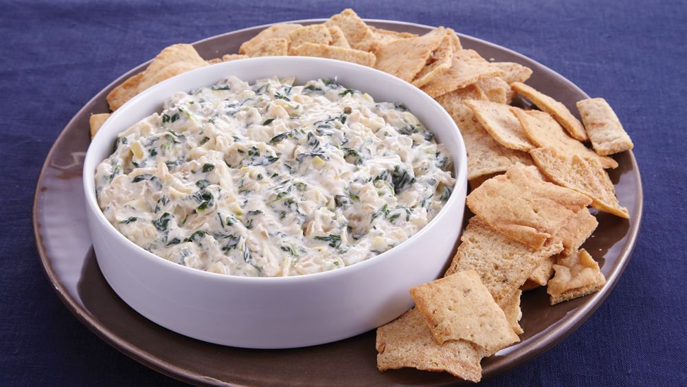 Slow-Cooker Caramelized Onion and Spinach Dip