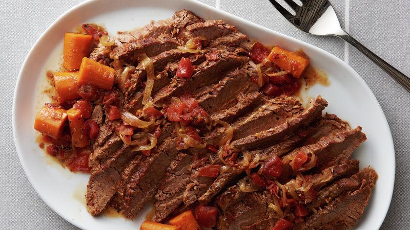 Slow-Cooker Beef Brisket