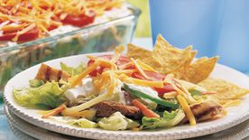 Fajita Layered Salad