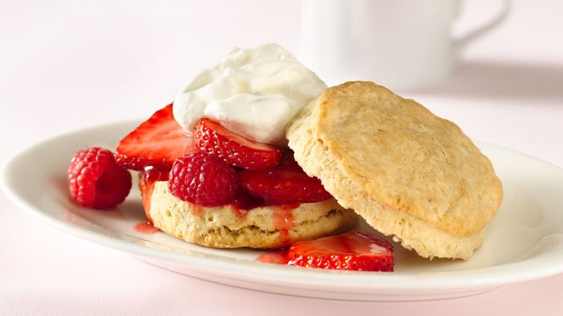 Southern Style Biscuit Shortcakes