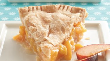 Plum Peachy Pie