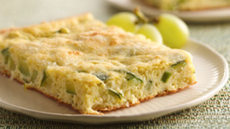 Light Zucchini Bake