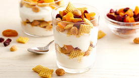 Gluten-Free Honey Nut-Vanilla Parfait