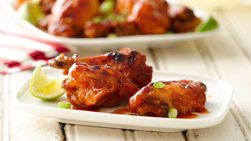how to make barbecue chicken wings in the oven