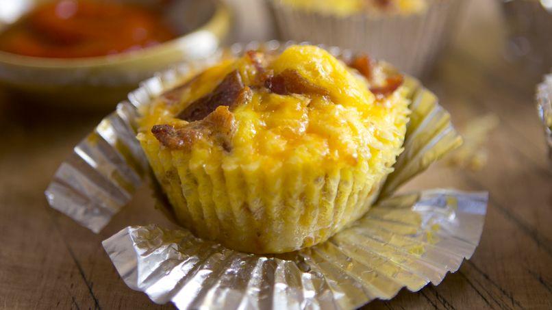 Bacon Breakfast Cupcakes