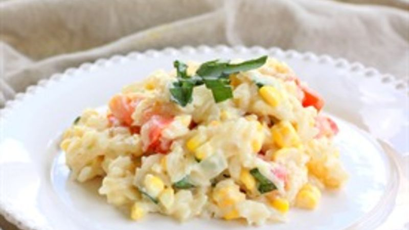 Tomato and Corn Risotto