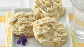 White Chocolate Macaroon Cookies