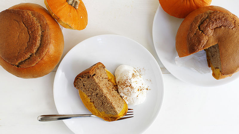 Mini Pumpkin Spice Cake