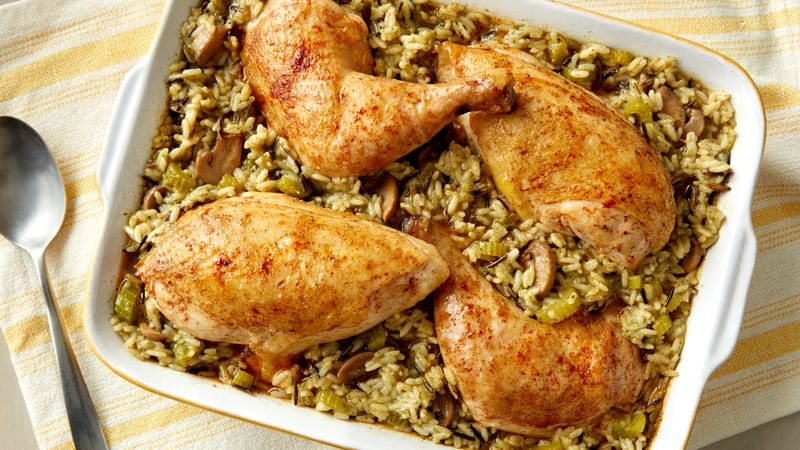 Chicken And Rice Bake Recipe Pillsbury Com
