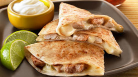 Cinnamon Chicken Quesadillas