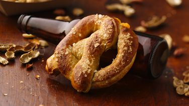 Beer Cheese-Stuffed Pretzels
