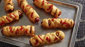 Fried Crescent Mummy Dogs