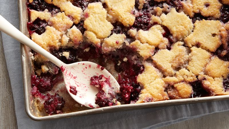 Blackberry Cobbler Recipe - BettyCrocker.com