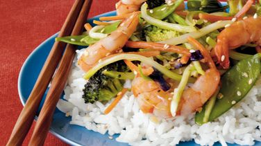 Easy Shrimp Stir-Fry