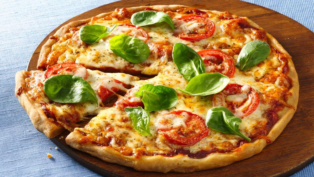 Gluten-Free Tomato and Mozzarella Pizza recipe from Pillsbury.com